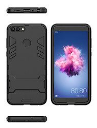 cheap -Case For Huawei Huawei P smart Shockproof / with Stand Back Cover Armor Hard PC for Huawei P smart