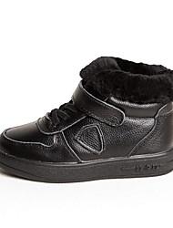 abordables -Chica Zapatos PU Invierno Confort Zapatillas de deporte para Blanco / Negro / Rosa