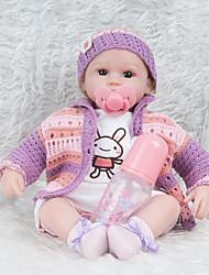 cheap -NPKCOLLECTION Reborn Doll 18 inch Silicone - lifelike Kid's Girls' Gift