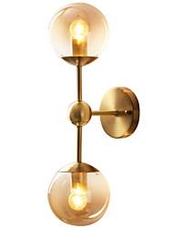 preiswerte -Retro / Vintage / Modern / Zeitgenössisch Wandlampen Wohnzimmer / Schlafzimmer Metall Wandleuchte IP20 110-120V / 220-240V 60 W
