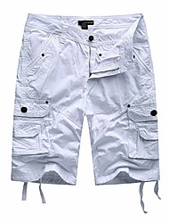 billige Bestselgere-Herre Militær Shorts Bukser Ensfarget