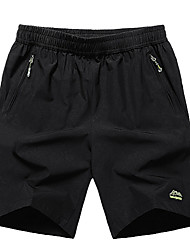 abordables -Hombre Tallas Grandes Shorts Pantalones - Un Color