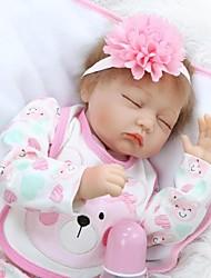 Недорогие -NPKCOLLECTION Куклы реборн Девочки 24 дюймовый как живой Детские Девочки Подарок
