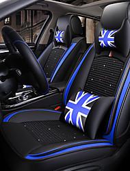 economico -ODEER Cuscini per sedile auto Coprisedili Nero / Blu Tessile / Pelliccia artificiale Normale for Universali Tutti gli anni Tutti i modelli