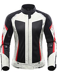 economico -DUHAN 186 Abbigliamento moto Giacca di pelleforDa donna Poliestere / Tessuto retato traspirante Estate Impermeabile / comodo