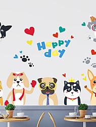 economico -Adesivi decorativi da parete - Adesivi murali animali Animali Salotto / Camera da letto / Bagno