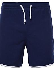 abordables -Hombre Algodón Pantalones de Deporte / Shorts Pantalones - Un Color