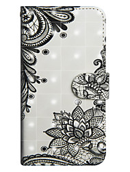 cheap -Case For Sony Xperia XA2 Ultra / Xperia XA1 Ultra Wallet / Card Holder / with Stand Full Body Cases Lace Printing Hard PU Leather for Sony Xperia XZ2 / Sony Xperia XZ2 Compact / Xperia XZ2 Compact