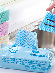baratos -Cozinha Produtos de limpeza Tecidos não Tecelados Escova e Pano de Limpeza Antipoeira / Não-Pegajoso 1pç