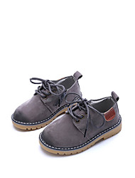 cheap -Boys' Shoes PU(Polyurethane) Spring / Fall Comfort / Light Soles Oxfords Walking Shoes for Kids Gray