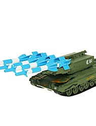 Недорогие -Игрушечные машинки Военная техника Танк Армия Танк Колесница Вид на город Cool утонченный Металл Детские Для подростков Все Мальчики Девочки Игрушки Подарок 1 pcs