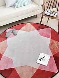 baratos -Os tapetes da área Clássico / Modern Poliéster, Circular Qualidade superior Tapete