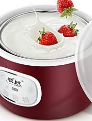 Недорогие -Создатель йогурта Новый дизайн / Полностью автоматический Нержавеющая сталь / ABS Машина для йогурта 220 V 15 W Кухонная техника