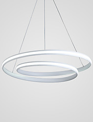 cheap -Circular Chandelier Ambient Light - New Design, Adjustable, 110-120V / 220-240V, Warm White / Cold White / Dimmable With Remote Control,