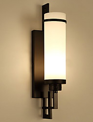 cheap -Modern / Contemporary Wall Lamps & Sconces Bedroom / Office Metal Wall Light 220-240V 40 W