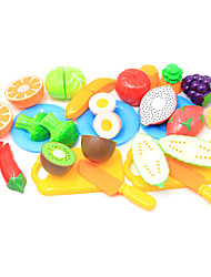 cheap -Pretend Play Food / Fruit Parent-Child Interaction Plastic Shell All Preschool Gift 20 pcs