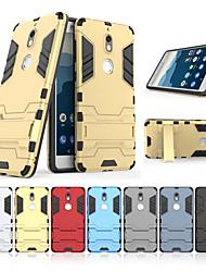 abordables -Funda Para Nokia Nokia 7 con Soporte Funda Trasera Un Color Dura ordenador personal para Nokia 7