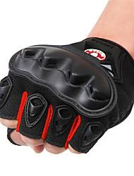 Недорогие -WOSAWE Half-палец Универсальные Мотоцикл перчатки ПВХ (поливинилхлорида) / Дышащая сетка / Полиэфирная ткань Дышащий / Износостойкий / Ударопрочность