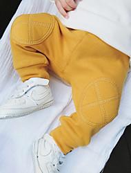 economico -Bambino Da ragazzo Essenziale Tinta unita Cotone Pantaloni / Bambino (1-4 anni)
