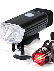 cheap -Front Bike Light / Rear Bike Light LED Cycling Portable / Waterproof / Lightweight Li-ion 500 lm Lumens White Cycling / Bike