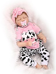 cheap -NPKCOLLECTION Reborn Doll Baby 24 inch Silicone - lifelike Kid's Girls' Gift