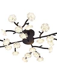 cheap -QIHengZhaoMing Flush Mount Ambient Light 110-120V / 220-240V, Warm White, Bulb Included