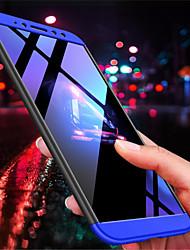Недорогие -Кейс для Назначение Xiaomi Redmi Note 5 Pro / Redmi S2 Рельефный Кейс на заднюю панель Однотонный Твердый ПК для Xiaomi Redmi Note 5 Pro / Xiaomi Redmi 5 Plus / Xiaomi Redmi 5