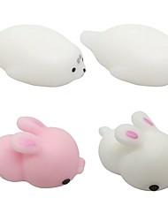 Недорогие -LT.Squishies Резиновые игрушки / Устройства для снятия стресса Rabbit / Морское животное Стресс и тревога помощи / Декомпрессионные
