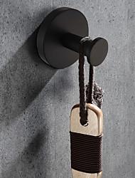 abordables -Crochet à Peignoir Design nouveau Rustique Acier inoxydable / fer Salle de Bain