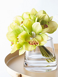 Недорогие -Искусственные Цветы 1 Филиал Классический Простой стиль / Свадебные цветы Орхидеи Букеты на стол