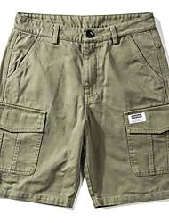 billige Bestselgere-Herre Store størrelser Shorts Bukser Geometrisk