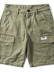 abordables -Hombre Tallas Grandes Shorts Pantalones - Geométrico