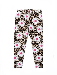 cheap -Toddler Girls' Cat Floral Leggings