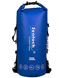 baratos -Sealock 30 L Bolsa Impermeável Zíper á Prova-de-Água, Vestível para Natação / Mergulho / Surfe