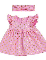 abordables -Bebé Chica Bloques Sin Mangas Vestido