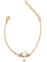 cheap -Women's Long Chain Bracelet - Coconut Tree Sweet, Fashion Bracelet Gold / Silver / Rose Gold For School / Birthday