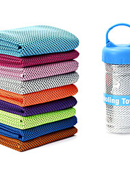 cheap -Cooling Towel Odor Free, Eco-friendly, Non-Slip Ice Silk For Yoga / Pilates / Bikram Sky Blue, Pink, Light Green With