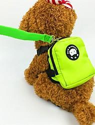 baratos -Cachorros / Coelhos / Gatos Tranportadoras e Malas Animais de Estimação Transportadores Mini / Fofo Sólido / Animal Laranja / Vermelho / Verde