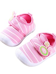 cheap -Boys' Shoes Mesh Spring / Fall First Walkers Sneakers Magic Tape for Infant Blue / Pink