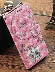 abordables -Funda Para Xiaomi Redmi Note 5A / Mi 5X Cartera / Soporte de Coche / con Soporte Funda de Cuerpo Entero Atrapasueños Dura Cuero de PU para Redmi Note 5A / Xiaomi Redmi Note 4X / Redmi 5A