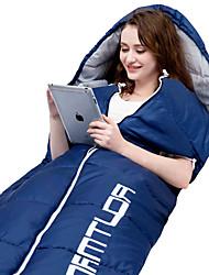 baratos -Saco de dormir Ao ar livre 0-15 °C Retangular Algodão Fecho YKK para Campismo / Escursão / Espeleologismo Primavera Verão