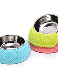 cheap -0.5 L L Dogs / Cats Bowls & Water Bottles Pet Bowls & Feeding Waterproof / Portable / Easy to Install Green / Blue / Pink