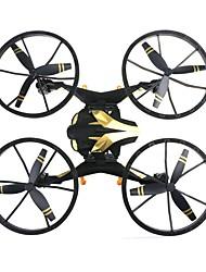baratos -RC Drone NH009 RTF 4CH 6 Eixos 2.4G Com Câmera HD 2.0MP 720P Quadcópero com CR Modo Espelho Inteligente Quadcóptero RC / Controle Remoto / Câmera