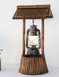 cheap -Simple New Design Table Lamp For Living Room Wood / Bamboo 220-240V