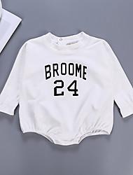 お買い得  -赤ちゃん 男の子 プリント 長袖 ボディスーツ