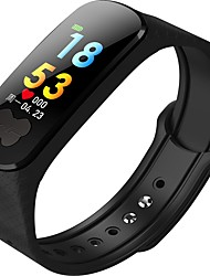 cheap -Smart Bracelet B37S for iOS / Android Waterproof / Blood Pressure Measurement / Pedometers / Calories Burned / GPS Pedometer / Call Reminder / Activity Tracker / Sleep Tracker / Sedentary Reminder
