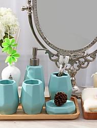 cheap -Bathroom Accessory Set Multifunction Contemporary Ceramic 4pcs - Bathroom