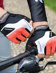 Недорогие -Перчатки для велосипедистов Перчатки для горного велосипеда Горные велосипеды Дышащий Противозаносный Ударопрочность Защитный Полупальцами Спортивные перчатки Лайкра Махровая ткань