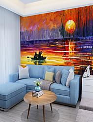 abordables -Mural Toile Revêtement - adhésif requis Peinture / Décoration artistique / 3D