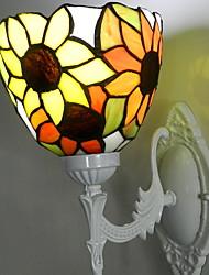 cheap -Creative Retro Wall Lamps & Sconces Bedroom Glass Wall Light 220-240V 40 W / E27